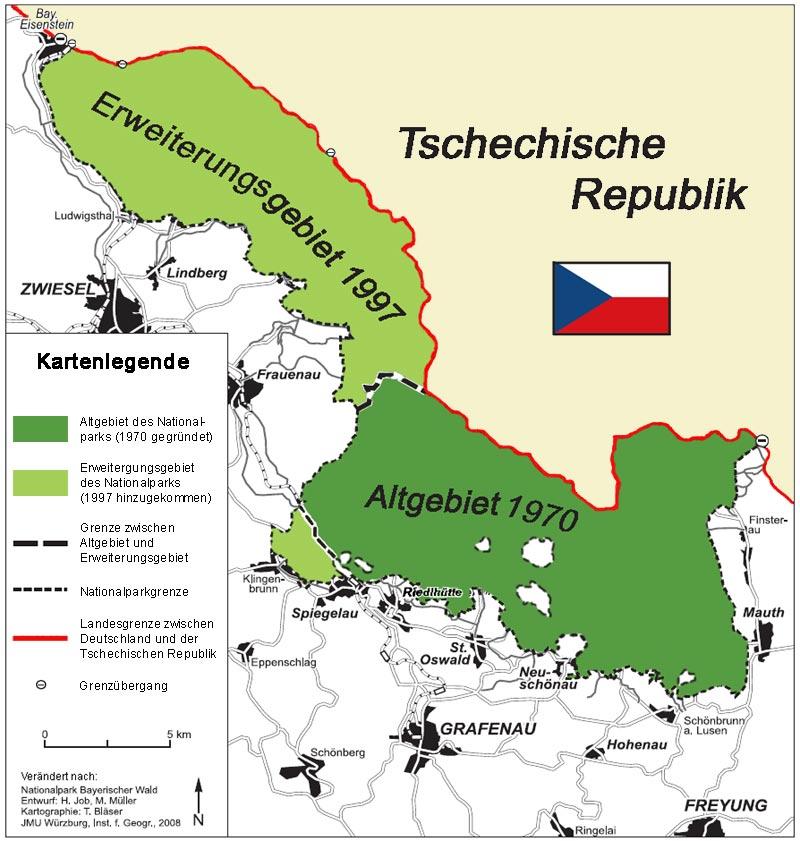 Nationalpark Bayerischer Wald Karte.Glokal Change ökosystem Wald Lokal Bayerischer Wald 02