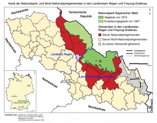 Nationalpark Bayerischer Wald Karte.Glokal Change ökosystem Wald Lokal Bayerischer Wald 08