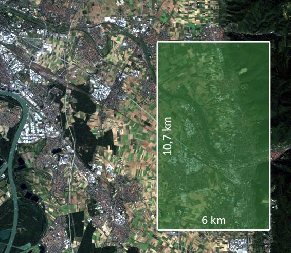 Fußballfeld Hektar